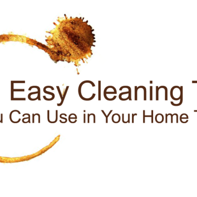 Declutter and Cleaning Tips For The Home