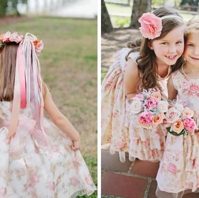 Adorable Flower Girl Dresses and Accessories for Autumn and Winter Weddings