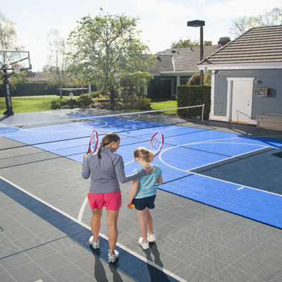 The Advantages of Building a Tennis Court at Your Home