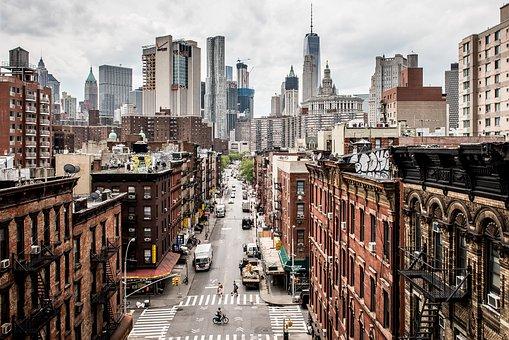 Usa, Manhattan, Contrasts, New York