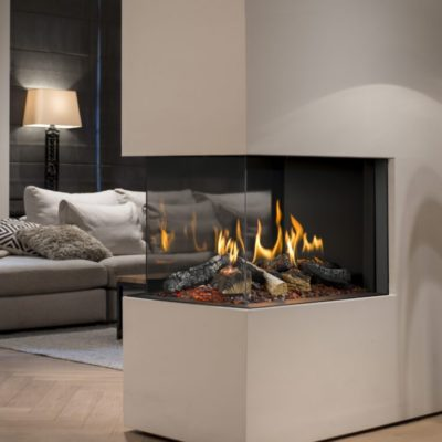 Fireplaces with modern styles