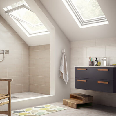 Why a converted loft can be a surprisingly good place for a bathroom