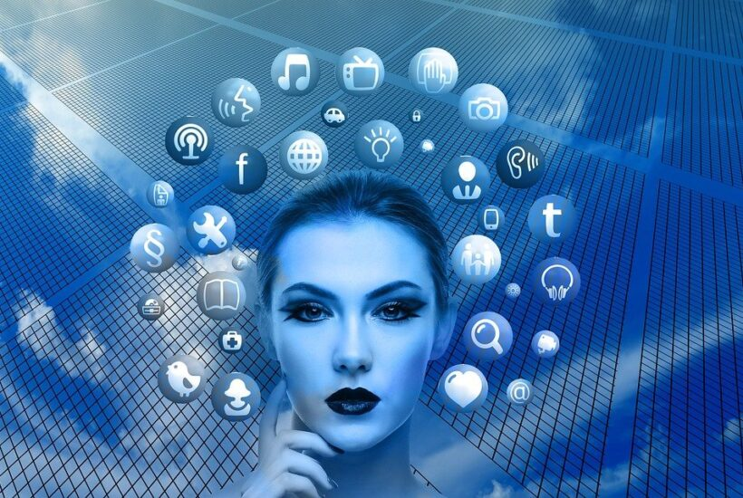 Woman, Face, Social Media, Thoughts, Head, Applications